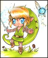 Chibi Link by jessiejazz