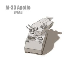 M-33 Apollo by cthelmax