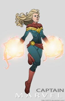 Captain Marvel by J3010