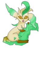 Leafeon by strangmusicobsession