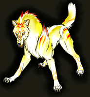 Wolf Design for Hotaru-light by TheTyro