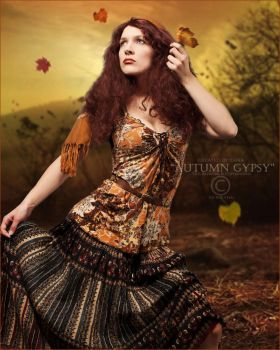 Autumn Gypsy by Doucesse