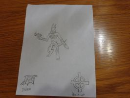 Video game OC Dragon Quickshot by RealSF