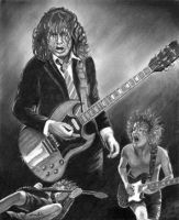 Angus Young by rick921
