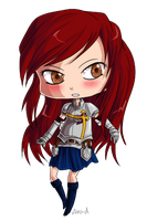 Fairy Tail - Chibi Erza by virro-d