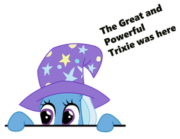 TGaP Trixie was here by ZkullDefence