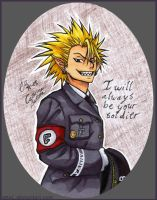 Hiruma - Soldier by attaC