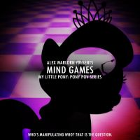 Pony POV Series Mind Games Cover by MysteryEzekude