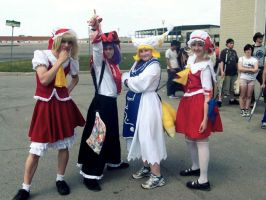 Touhou Groupies LOL by Siyome