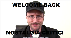 The Return of The Nostalgia Critic by cartoonfanboyone