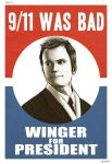 WINGER FOR PRESIDENT by Engelen