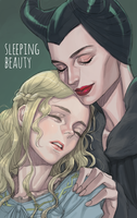Sleeping beauty by cosom