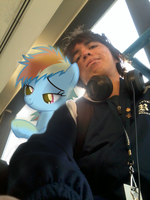 Rainbow Dash and I Really Hate the Humidity Today by BCMmultimedia