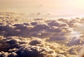 ocean of clouds by schilles-photography