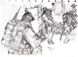 Lineart: Black-ops by HendryRoesly