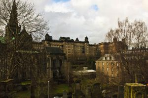 View from Glasgow Necropolis by Fortisinprocella
