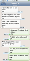 The Personal Text Log of Dr. John Watson Pt. 5a by blissfulldarkness