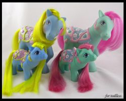 Baby Carousel Ponies 1 by Sweetlittlejenny