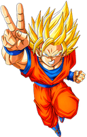 Goku SS2 4 by alexiscabo1