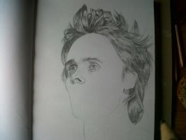 Jared Leto Rough Drawing 2 by didoo0501