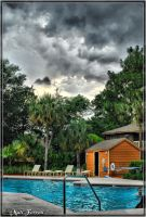 At the pool on a cloudy day 02 by AnimaSoucoyant