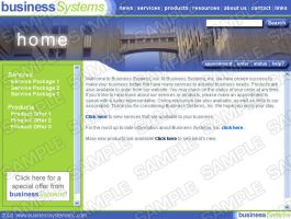 business systems website by GooMoo