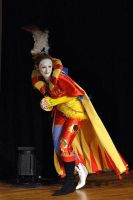 Kefka on stage by darkff666