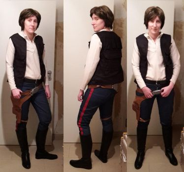 Star Wars - Han Solo by TooN-Twins