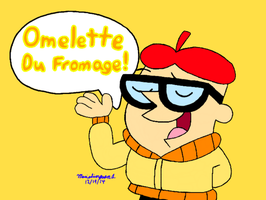 Omelette Du Fromage by MarioSimpson1