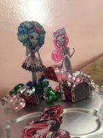 Crafted decorations monster high by Pudin-Tader