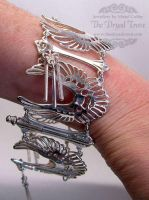 Angel Wing Bracelet - final by Tzel-ha-Lyla