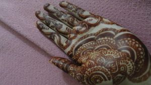 Itsy Bitsy Henna stain by A-w0man