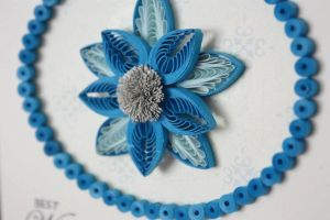 Beautiful quilled flower by InnaAdamenya