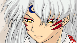 Sesshomaru wallpaper by DeliaintheSky