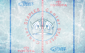 Staples Center Ice Wallpaper by DevinFlack