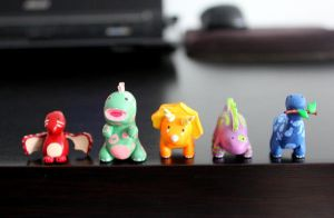 Mini Dinos by lonelysouthpaw