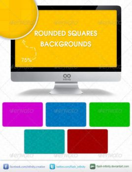 Rounded Squares Tiles Background by flash-infinity