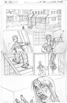 Zombie Test Page Pencils by arm01