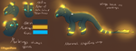 Na'di'ne Ref sheet [Mother of my NF][Dragonsona] by PegasiPaint