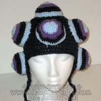 Katamari Hat -Winter Dark Blue by amigurumi