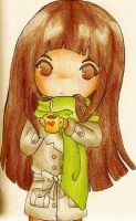 i have a scarf :D by Alumyn
