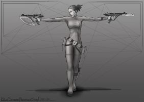 Proportions Study 1 by QTroubadour
