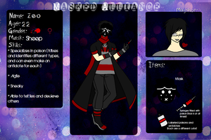 Masked Alliance Application - Zeo by AdorableEvil29