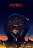 Critters Poster by fubango