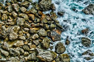 Wet pebbles by forgottenson1