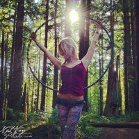 forest hoop fairy by NatVon