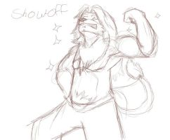 show off +sketch+ by Galvin-wolf