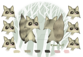 Archie the Mighty Raccoon by EmmziPopzXECSTACY
