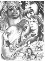 Dave Grohl by Paultattoo