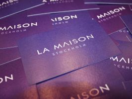 Business cards by Indallion